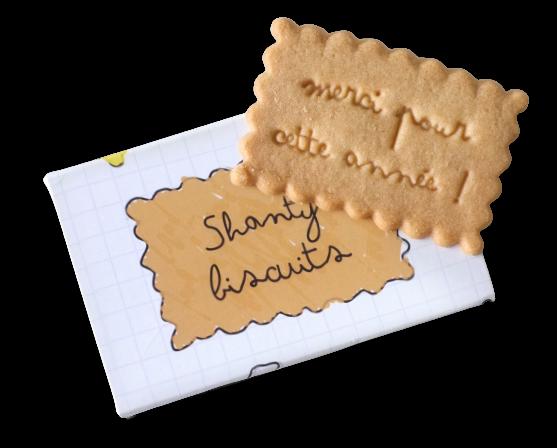 boite de biscuits pour remercier les maitresses